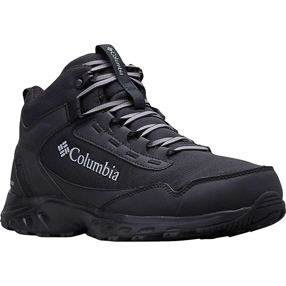 コロンビア Columbia Footwear メンズ ハイキング・登山 ブーツ シューズ・靴【Columbia Irrigon Trail Mid Fleece OT Boot】Black/Columbia Grey