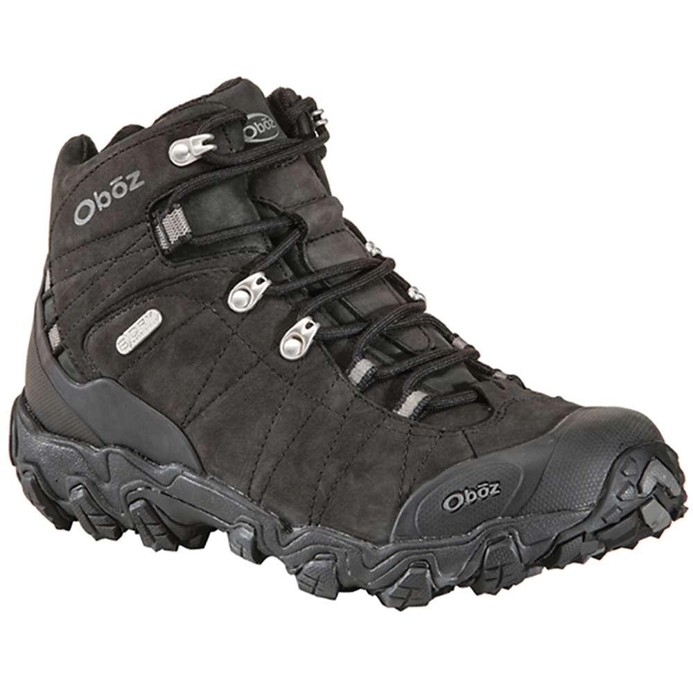 オボズ メンズ シューズ・靴 ブーツ【Oboz Bridger Mid BDry Boot】Black