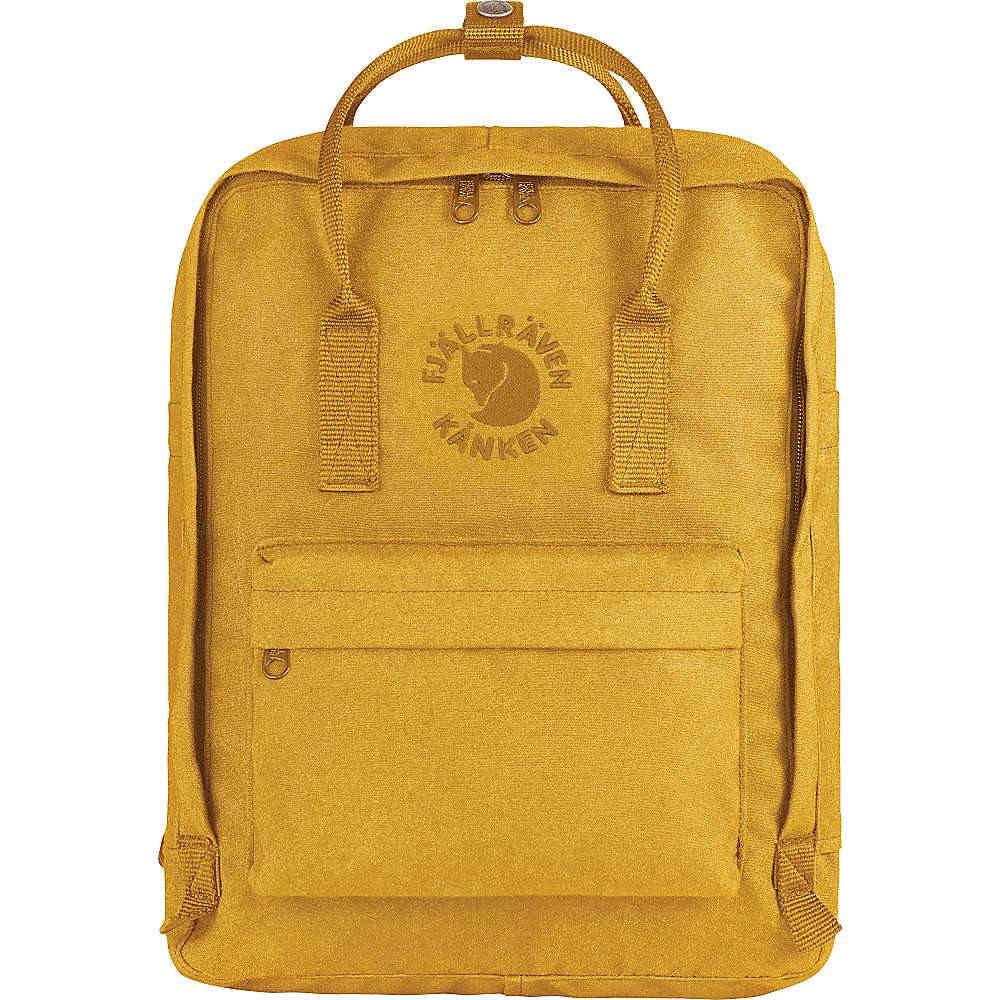 フェールラーベン ユニセックス メンズ レディース バッグ バックパック・リュック【Fjallraven Re-Kanken Backpack】Sunflower Yellow