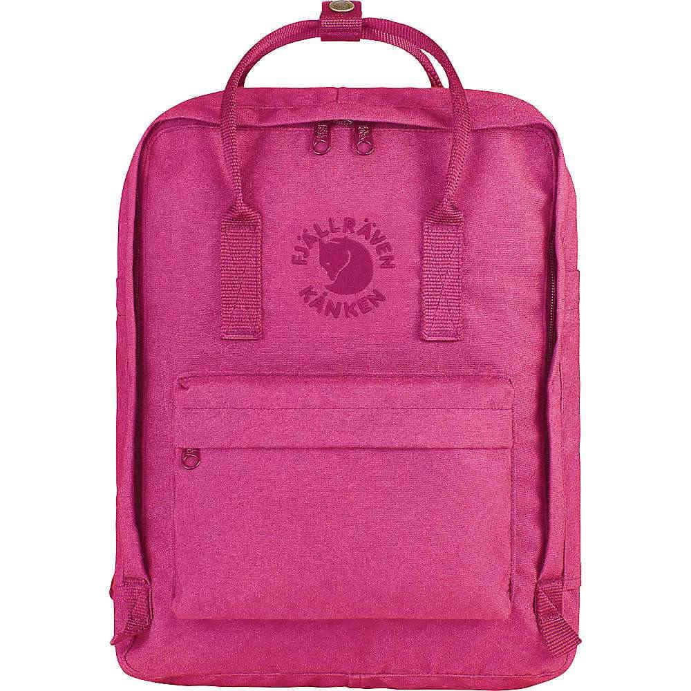 フェールラーベン ユニセックス メンズ レディース バッグ バックパック・リュック【Fjallraven Re-Kanken Backpack】Pink Rose