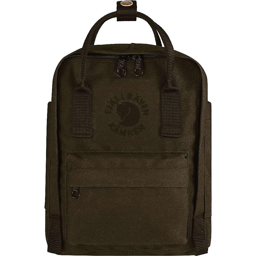 フェールラーベン ユニセックス メンズ レディース バッグ バックパック・リュック【Fjallraven Re-Kanken Mini Backpack】Dark Olive