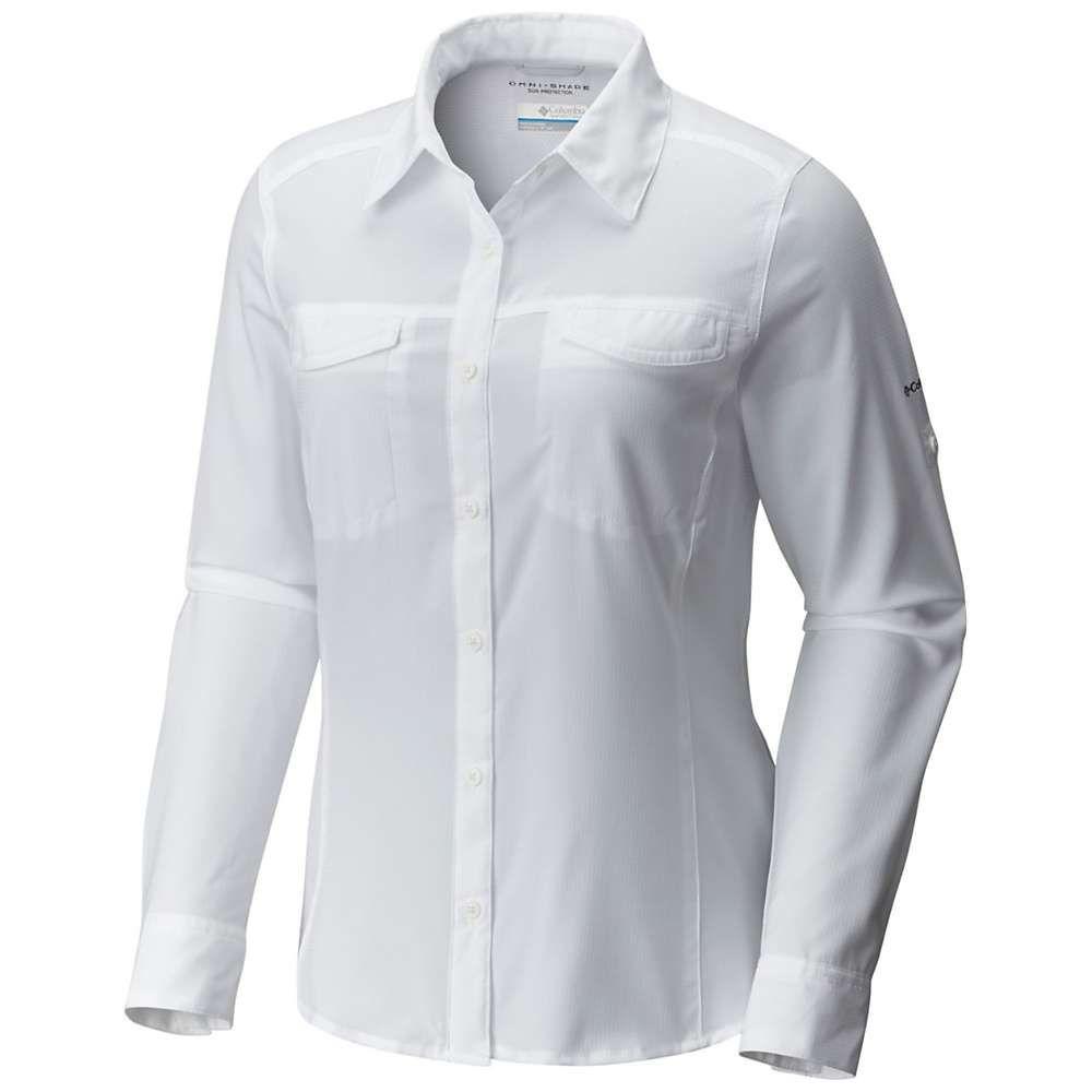 コロンビア Columbia レディース ブラウス・シャツ トップス【Silver Ridge Lite Long Sleeve Shirt】White