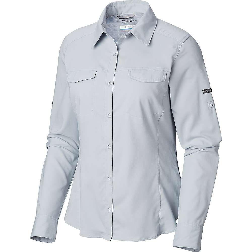 コロンビア Columbia レディース ブラウス・シャツ トップス【Silver Ridge Lite Long Sleeve Shirt】Cirrus Grey