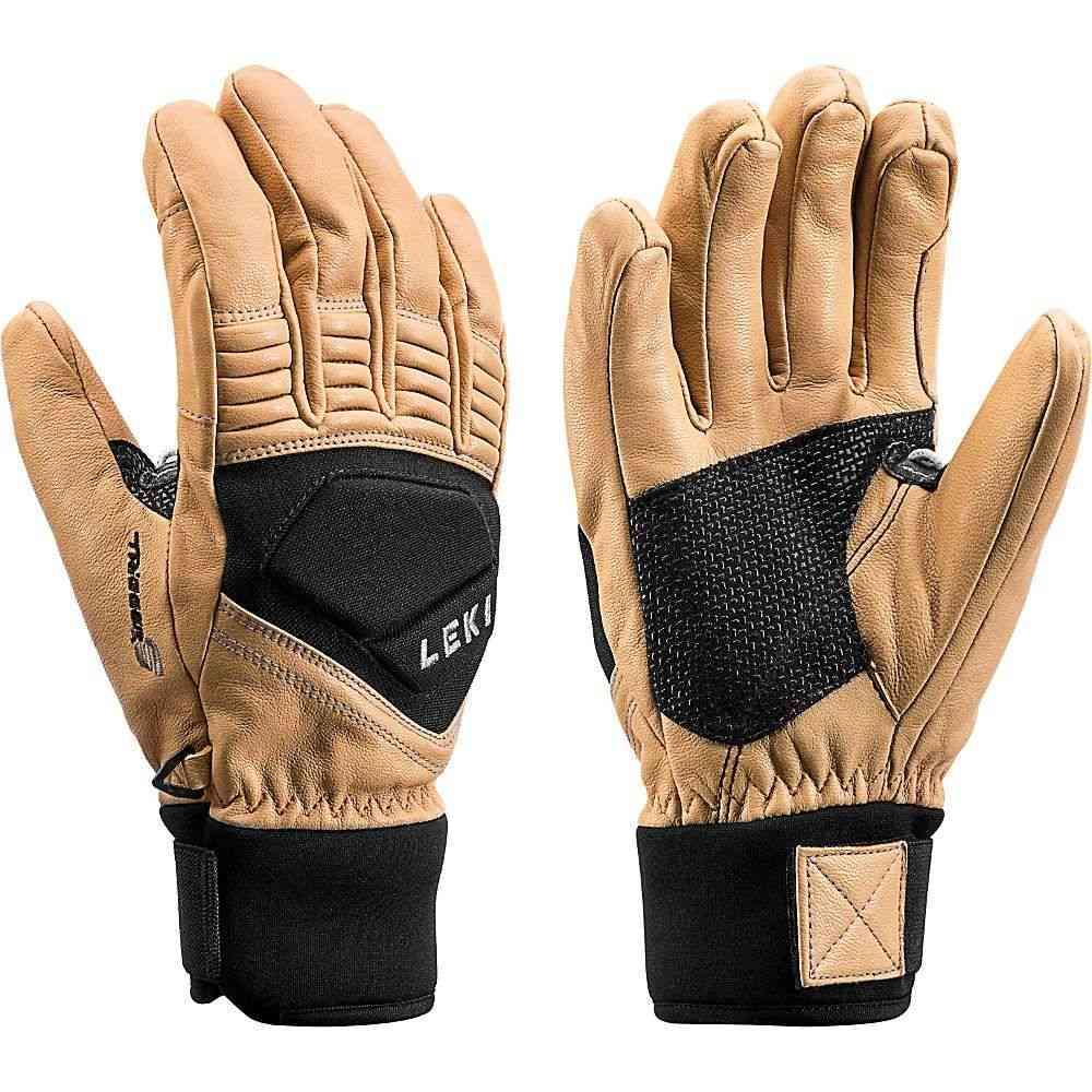レキ Leki メンズ スキー・スノーボード グローブ【Elements Copper S Glove】Tan/Black