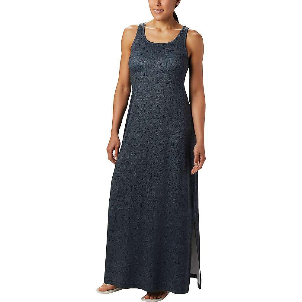 コロンビア Columbia レディース ワンピース マキシ丈 ワンピース・ドレス【Freezer Maxi Dress】Black Seaside Swirls Print