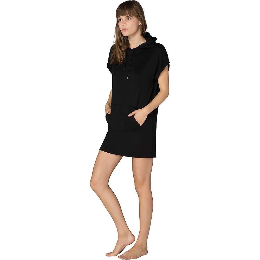 ビヨンドヨガ Beyond Yoga レディース ヨガ・ピラティス パーカーワンピース トップス【It's All Hoodie Dress】Black
