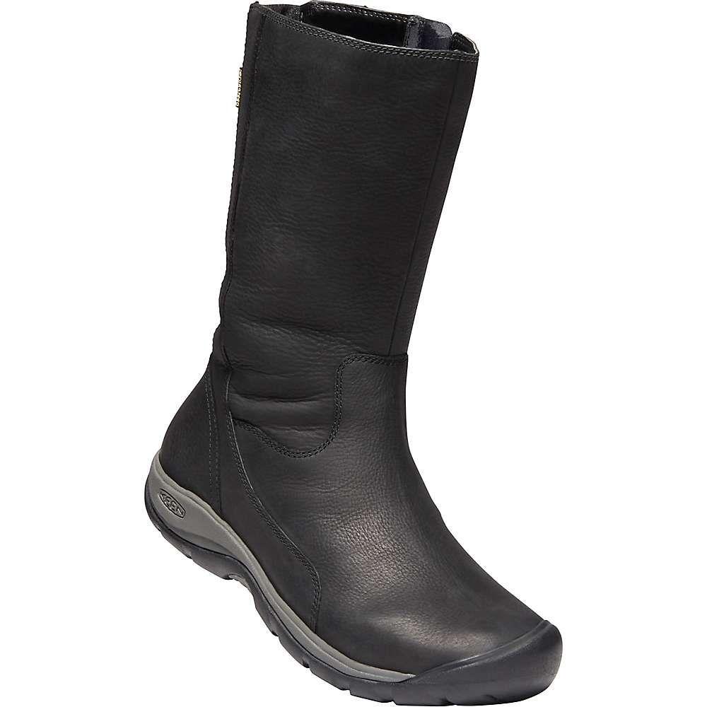キーン Keen レディース ブーツ シューズ・靴【Presidio II Waterproof Boot】Black/Magnet