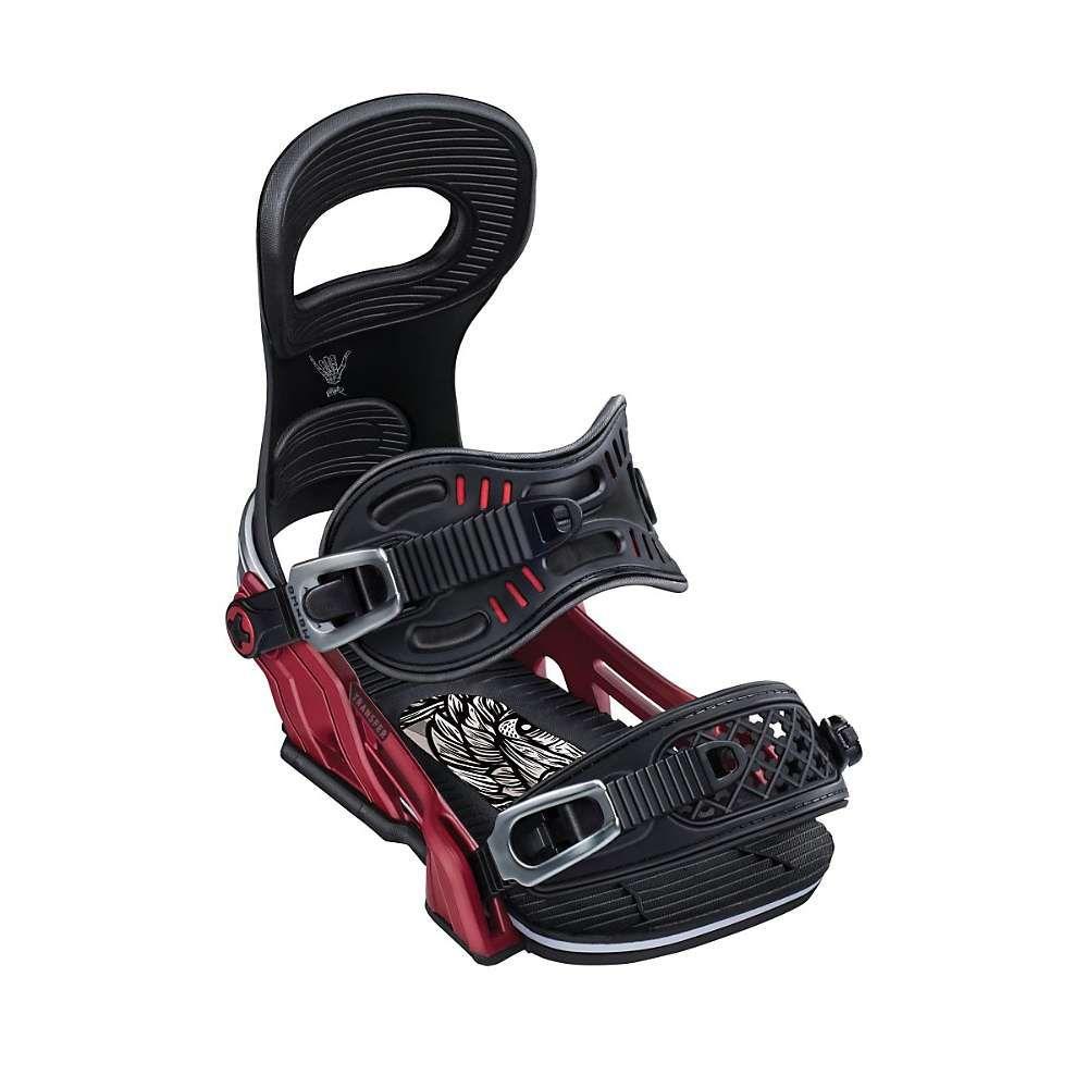 ベントメタル Bent Metal ユニセックス スキー・スノーボード ビンディング【Transfer Snowboard Binding】Winter//Red