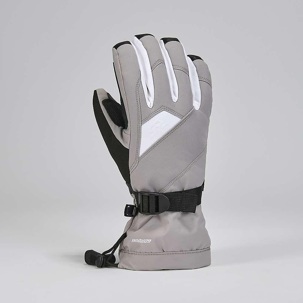 ゴルディーニ Gordini レディース スキー・スノーボード ダウン・中綿 グローブ【Aquabloc Down Gauntlet IV Glove】Clay Grey/Black