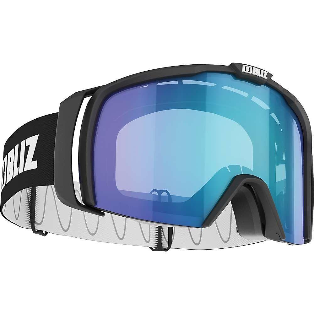 ブリッツ Bliz ユニセックス スキー・スノーボード ゴーグル【Nova Goggle】Matte Black/Light Orange/Blue Multi