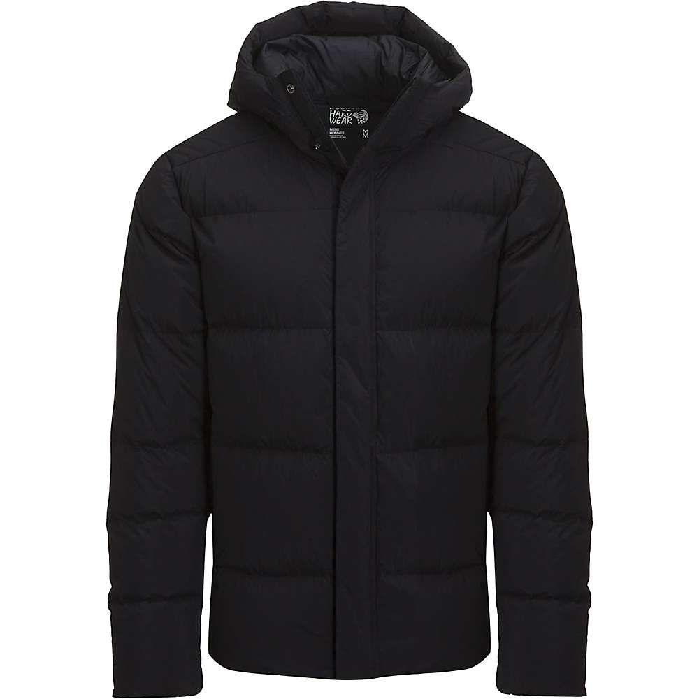 マウンテンハードウェア Mountain Hardwear メンズ ダウン・中綿ジャケット アウター【Glacial Storm Jacket】Black
