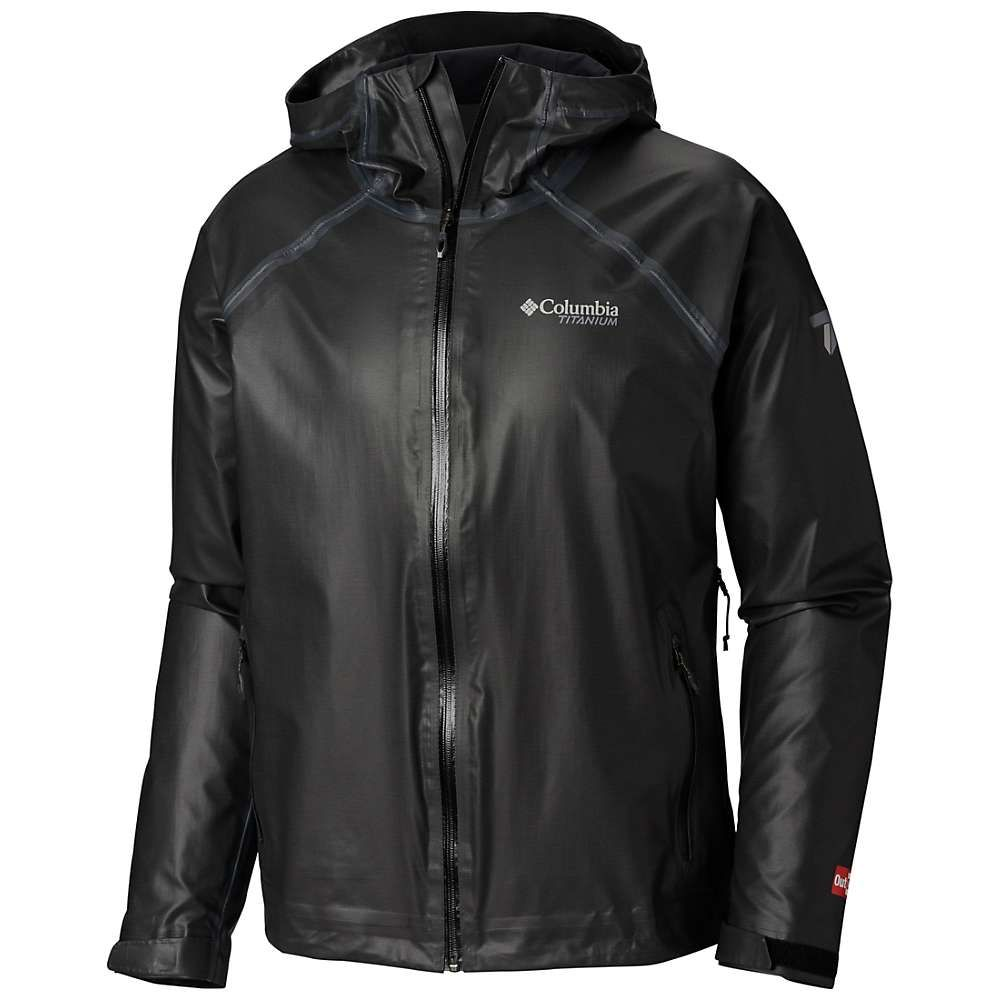 コロンビア Columbia メンズ ジャケット アウター【Titanium OutDry Ex Reign Jacket】Black Heather