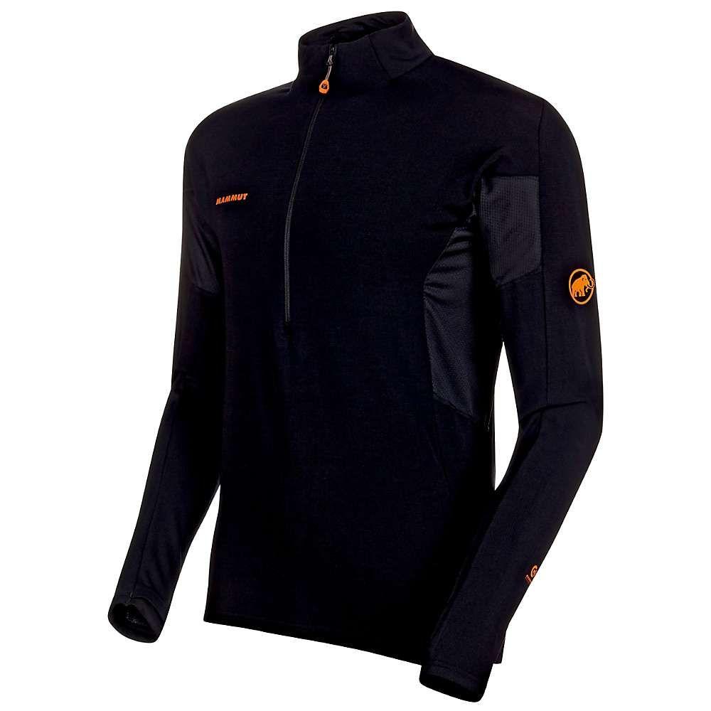 マムート Mammut メンズ 長袖Tシャツ トップス【Moench Advanced Half Zip LS T-Shirt】Black