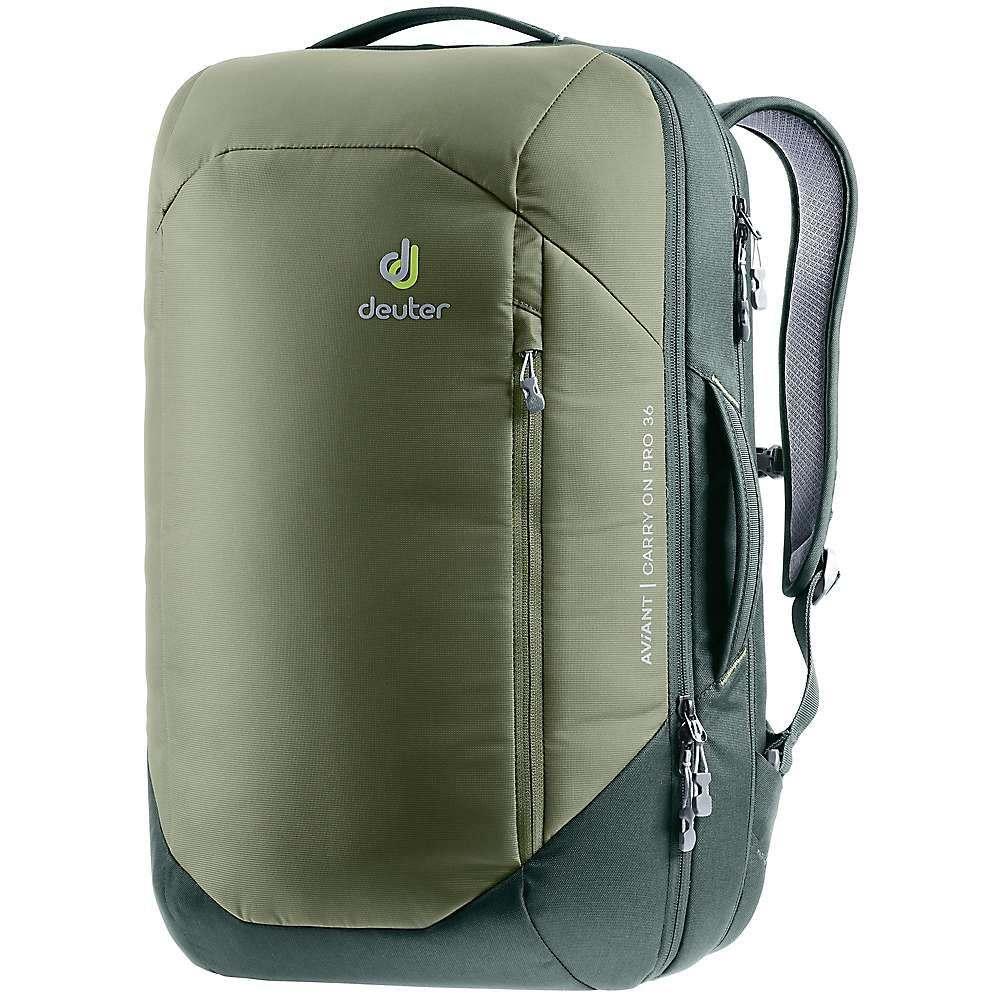 ドイター Deuter メンズ バックパック・リュック バッグ【Aviant Carry On Pro 36 Pack】Khaki/Ivy