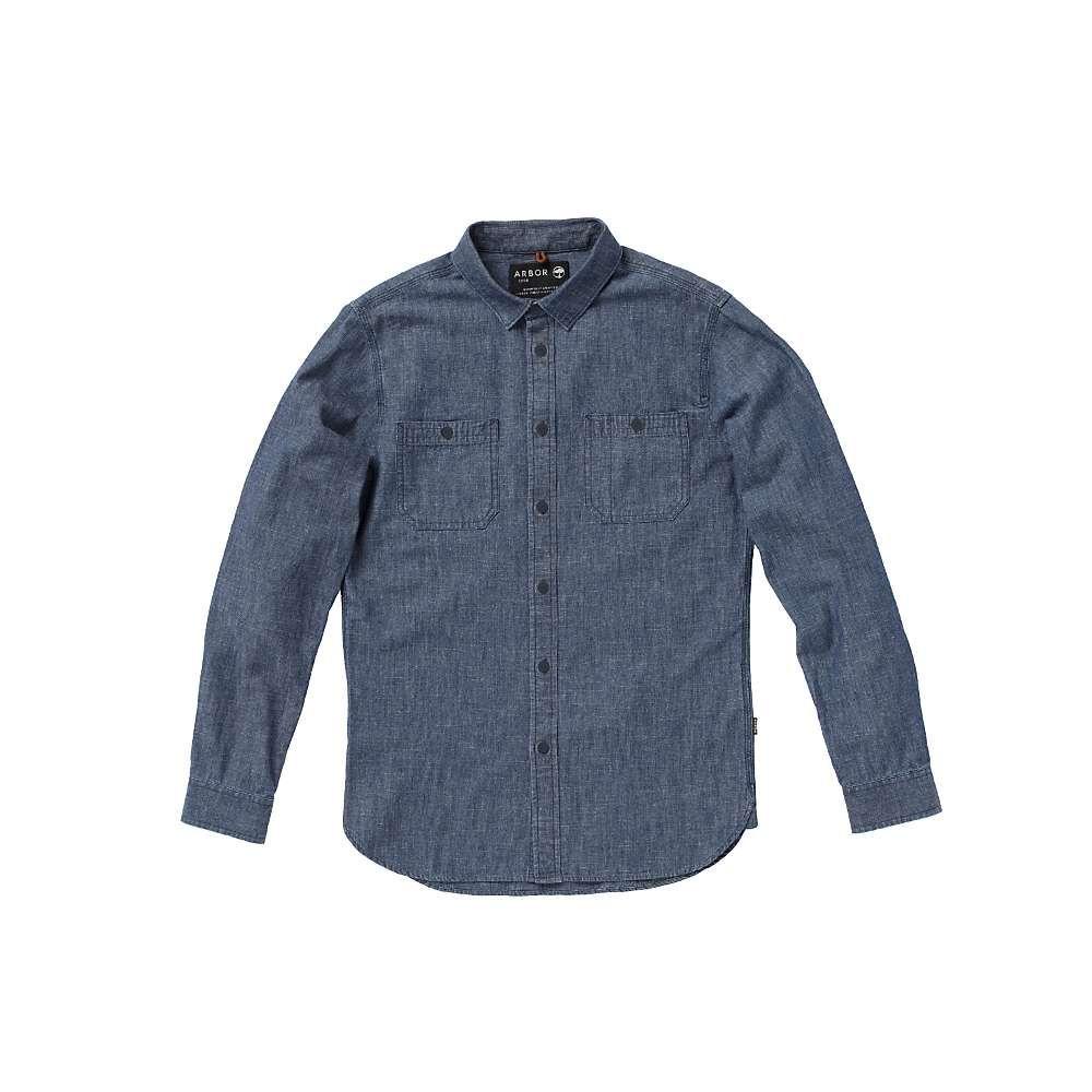 アーバー Arbor メンズ シャツ トップス【Mill Shirt】Dark Wash
