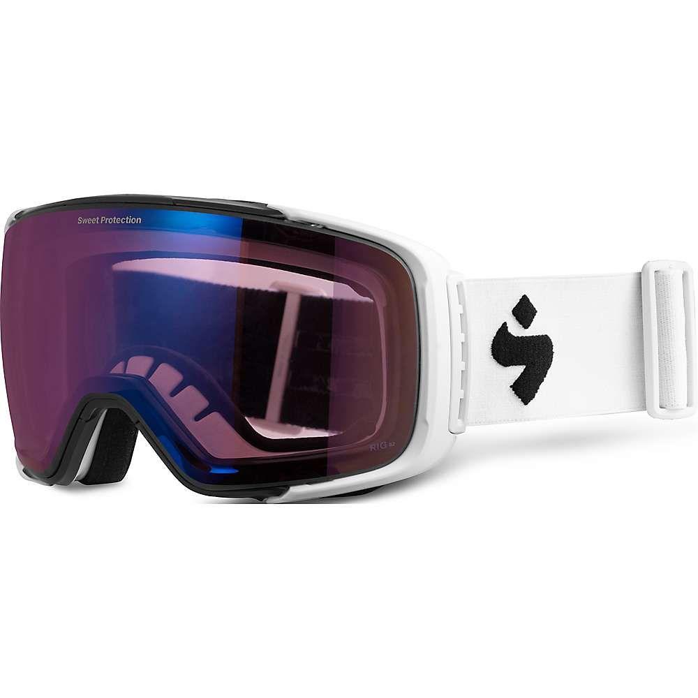 スイートプロテクション Sweet Protection ユニセックス スキー・スノーボード ゴーグル【Interstellar Goggle】Satin White/RIG Amethyst