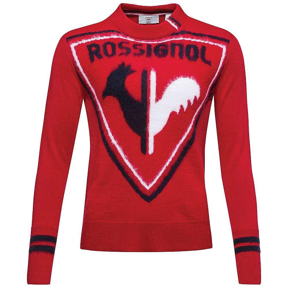 ロシニョール Rossignol レディース ニット・セーター トップス【Hiver Knit Sweater】Carmin