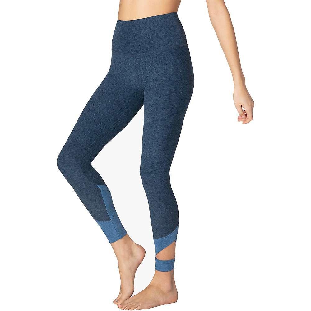 ビヨンドヨガ Beyond Yoga レディース ヨガ・ピラティス スパッツ・レギンス ボトムス・パンツ【Spacedye Set the Bar High Waisted Midi Legging】Insignia Navy