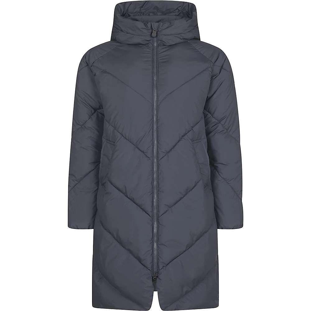 セイブ ザ ダック Save The Duck レディース コート フード アウター【Recycled Hooded Coat】Ebony Grey