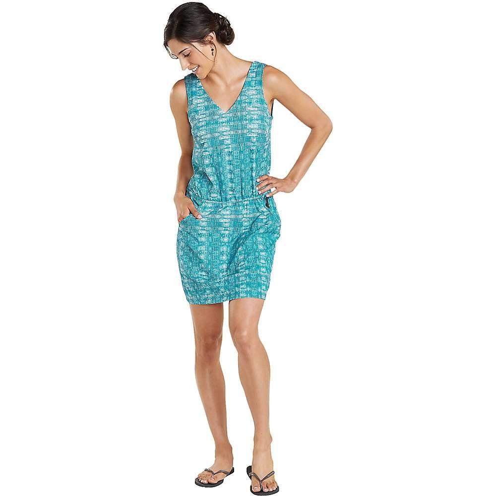 トードアンドコー Toad & Co レディース ワンピース ワンピース・ドレス【Liv Dress】Deepwater Layered Print