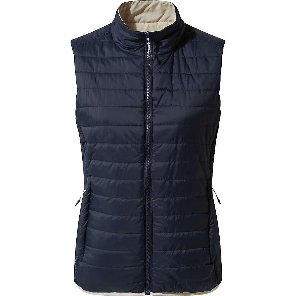 クラッグホッパーズ Craghoppers レディース スキー・スノーボード ベスト・ジレ アウター【Compresslite III Vest】Blue Navy/Calico