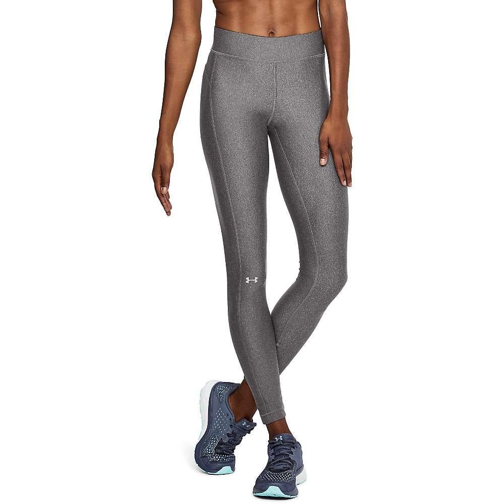 アンダーアーマー Under Armour レディース タイツ・ストッキング インナー・下着【HeatGear Armour Legging】Charcoal Light Heather/Charcoal LT/metallic Silver