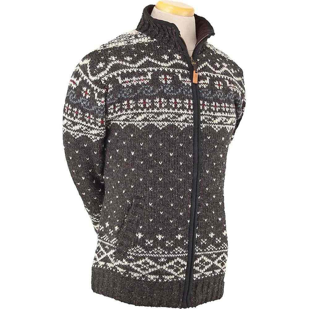 ランドロマット Laundromat メンズ フリース トップス【Thor Fleece Lined Sweater】Black Natural