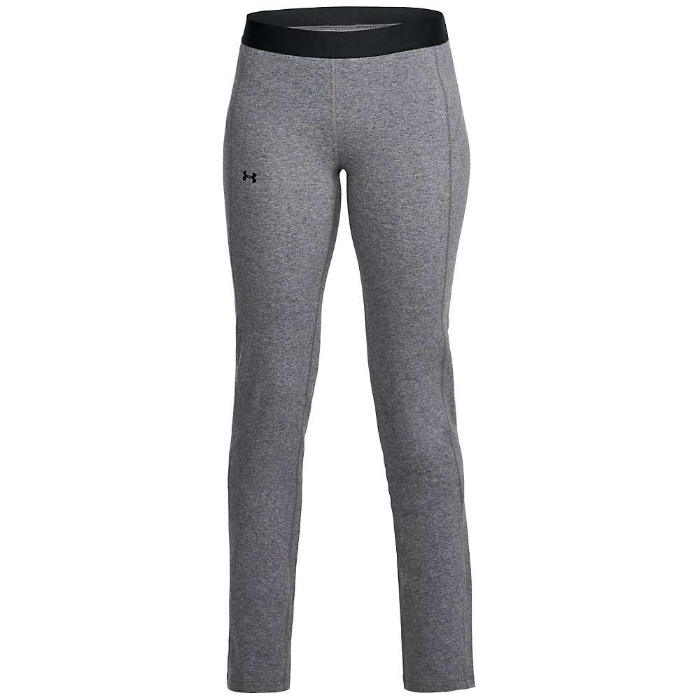 アンダーアーマー Under Armour レディース ボトムス・パンツ ストレートパンツ【UA Favorite Straight Leg Pant】Charcoal Light Heather/Tonal