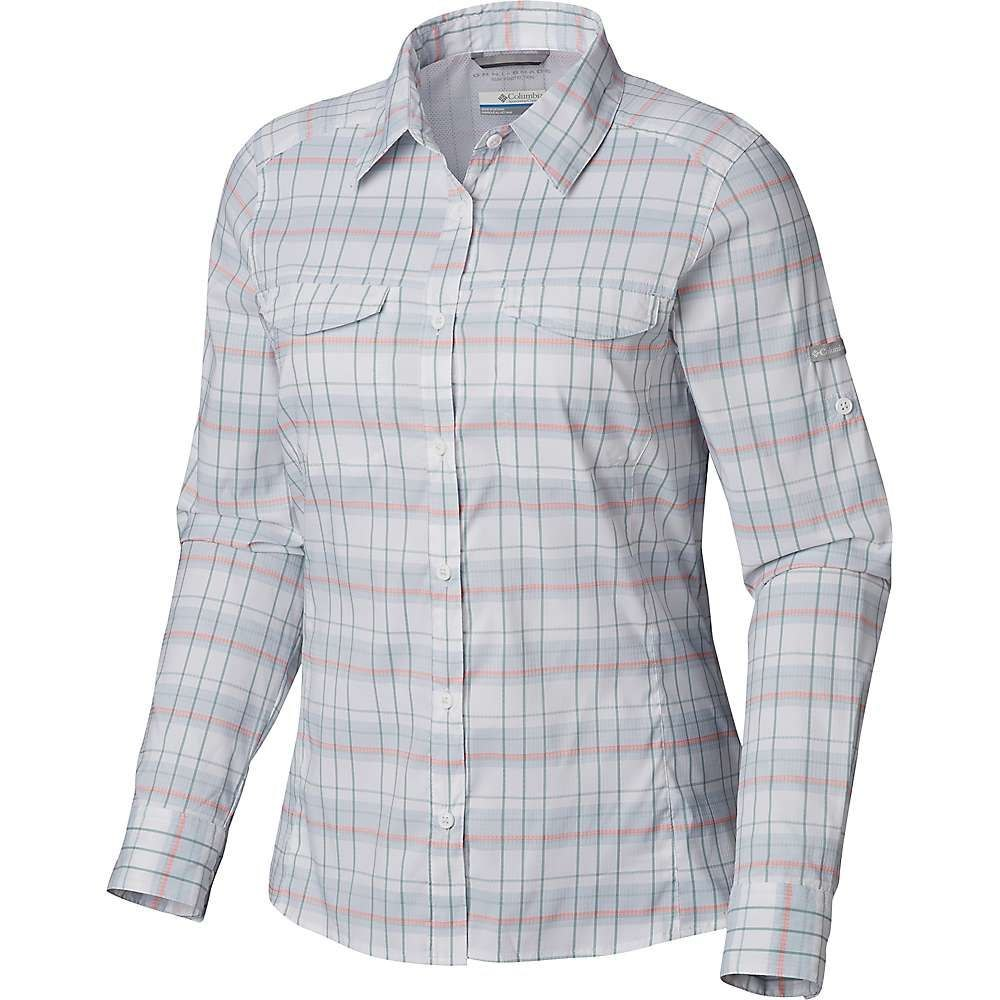 コロンビア Columbia レディース ブラウス・シャツ トップス【Silver Ridge Lite Plaid LS Shirt】Cirrus Grey Small Plaid