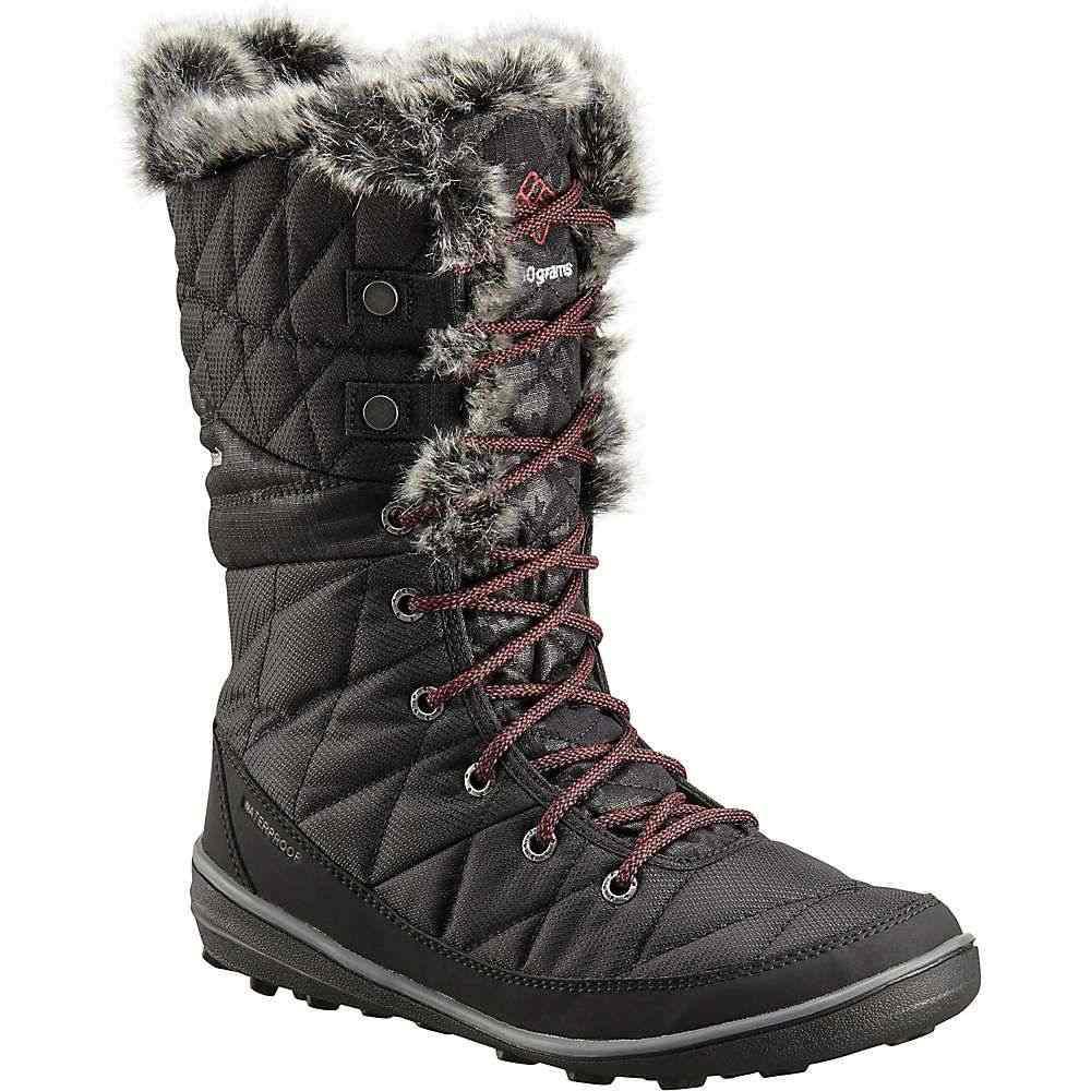 コロンビア Columbia Footwear レディース ブーツ シューズ・靴【Columbia Heavenly Camo Omni-Heat Boot】Black/Marsala Red