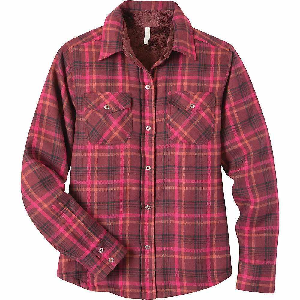 マウンテンカーキス Mountain Khakis レディース フリース トップス【Christi Fleece Lined Shirt】Raisin