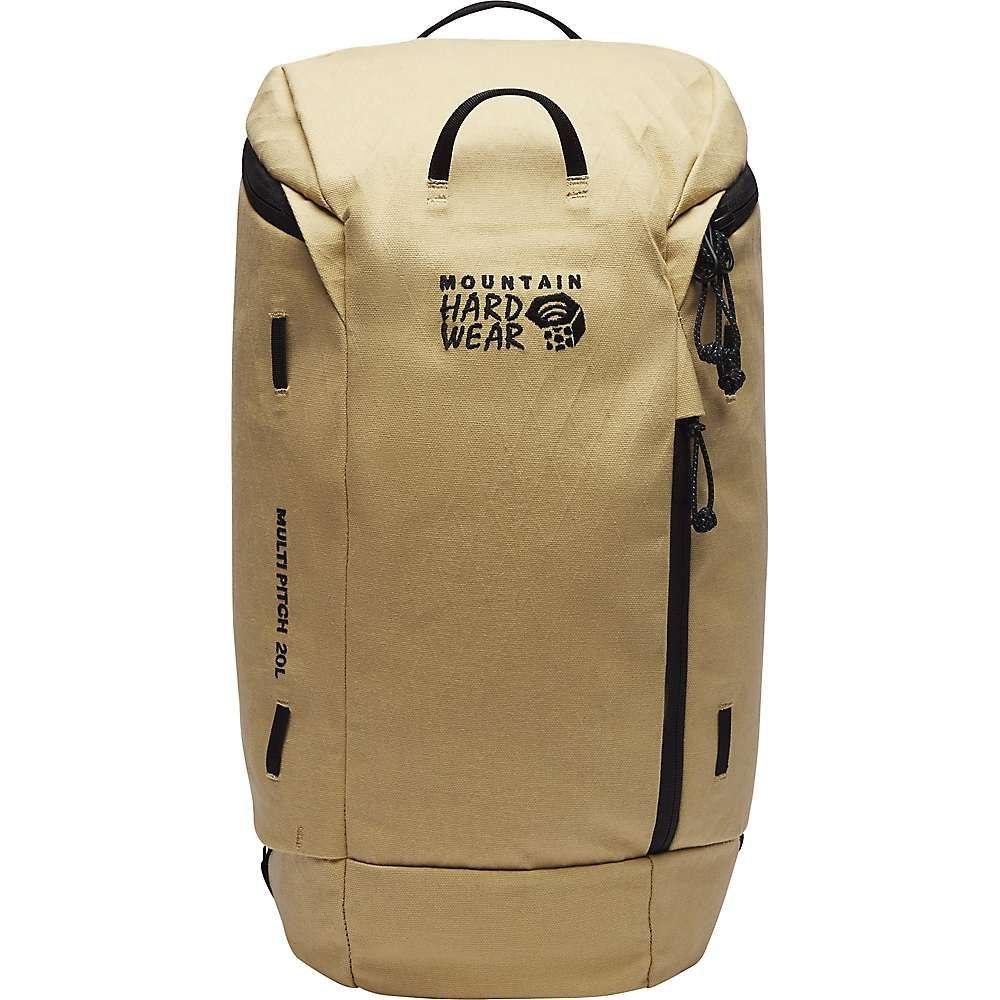 マウンテンハードウェア Mountain Hardwear ユニセックス クライミング バックパック・リュック【Multi-Pitch 20 Backpack】Sierra Tan