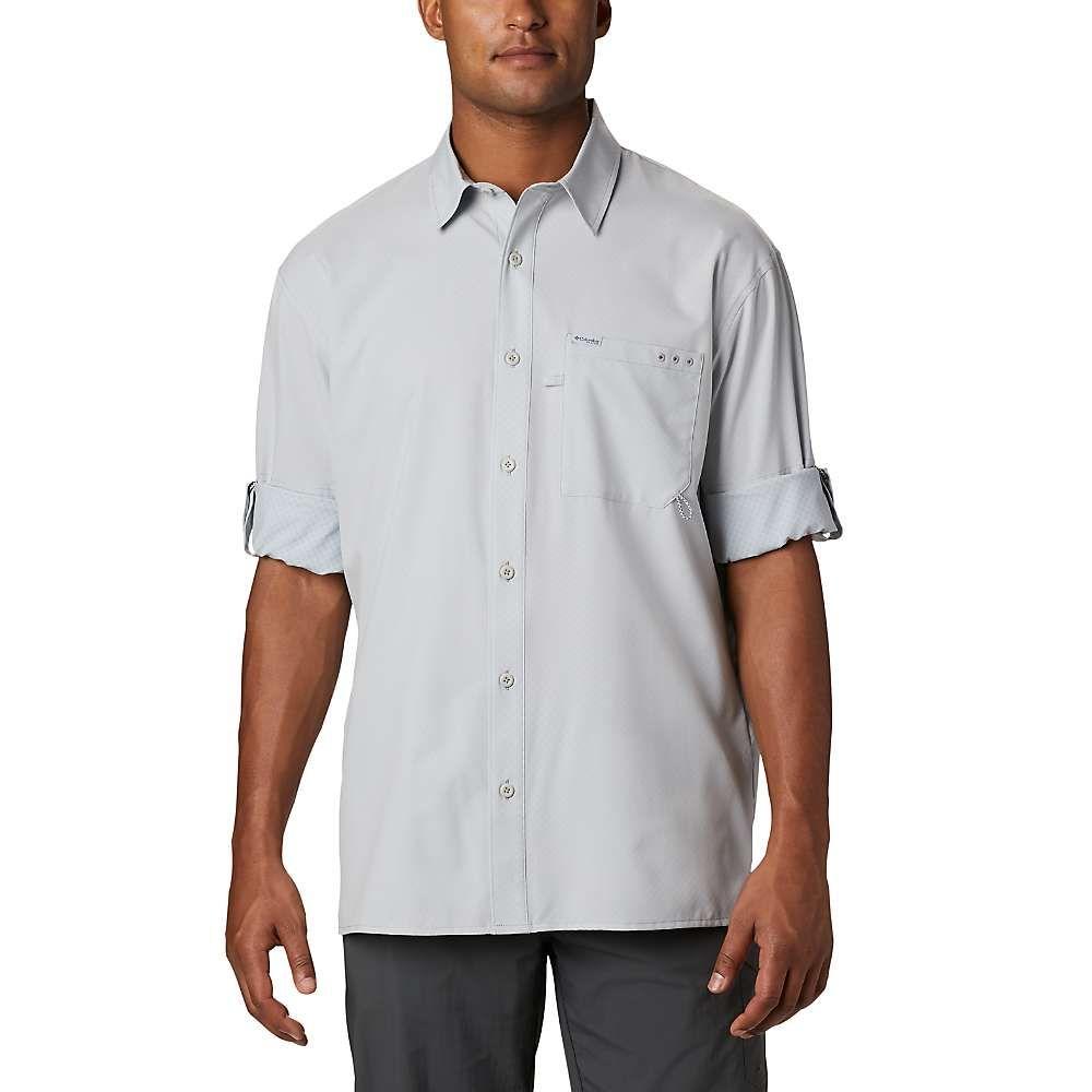 コロンビア Columbia メンズ 釣り・フィッシング トップス【PFG Zero Rules Woven LS Shirt】Cool Grey
