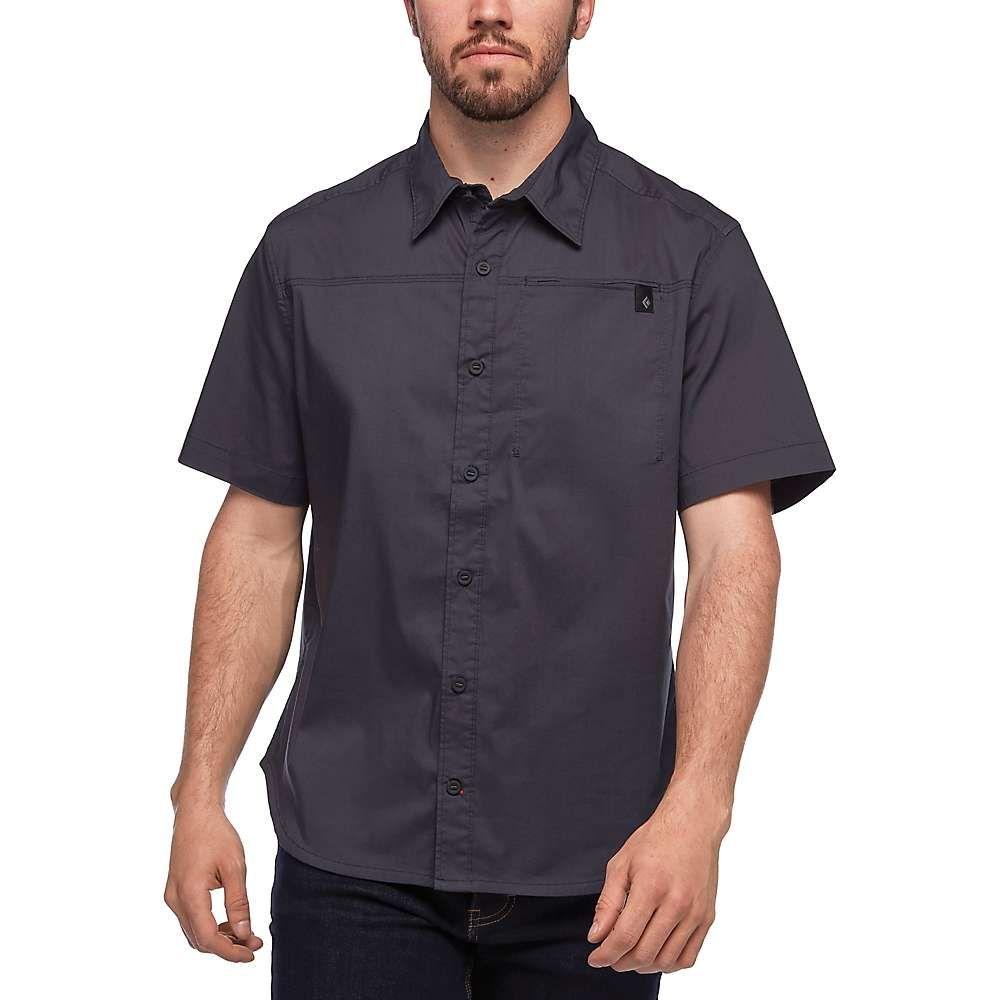 ブラックダイヤモンド Black Diamond メンズ ハイキング・登山 半袖シャツ トップス【Stretch Operator SS Shirt】Carbon