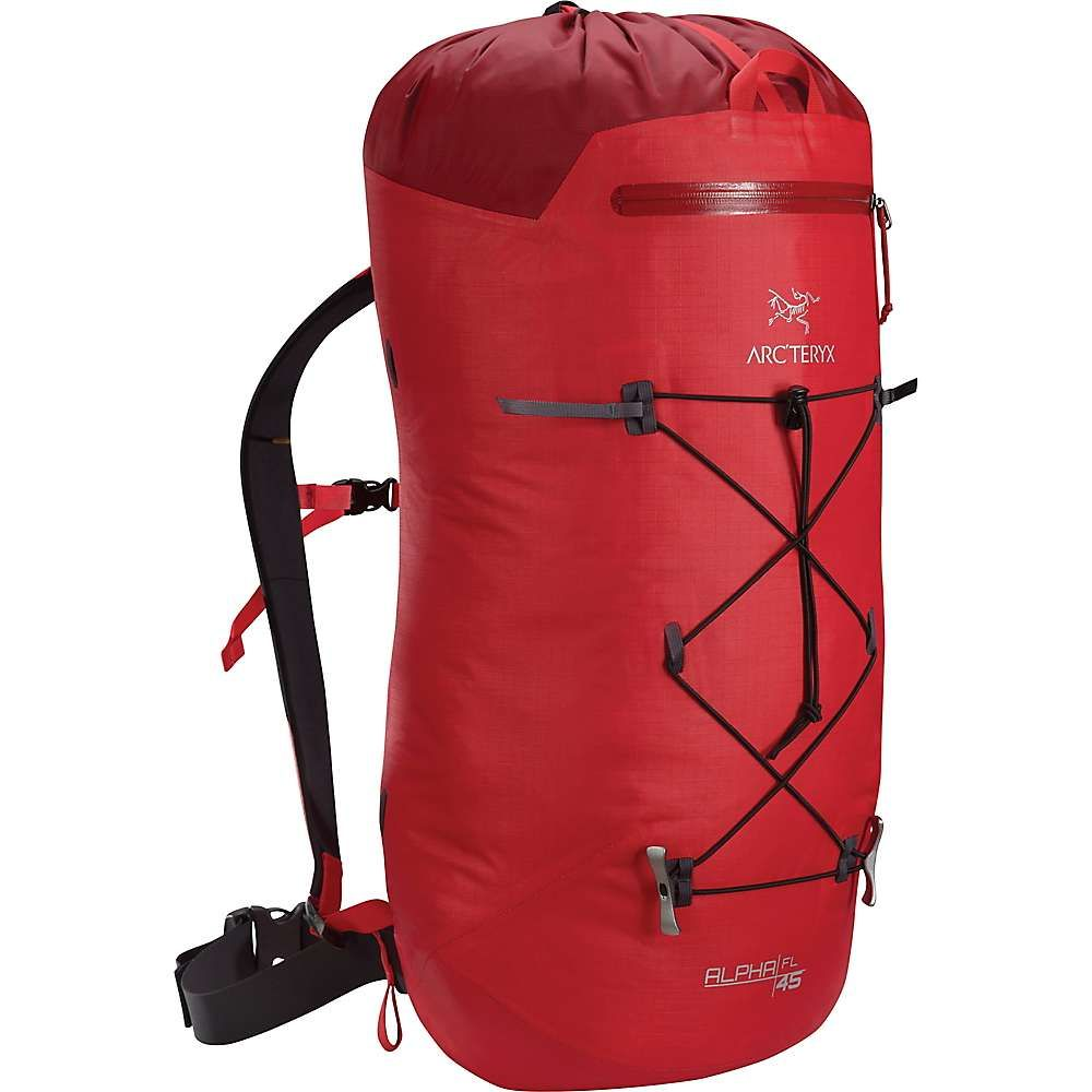 アークテリクス Arcteryx メンズ クライミング バックパック・リュック【Alpha FL 45 Backpack】Cardinal