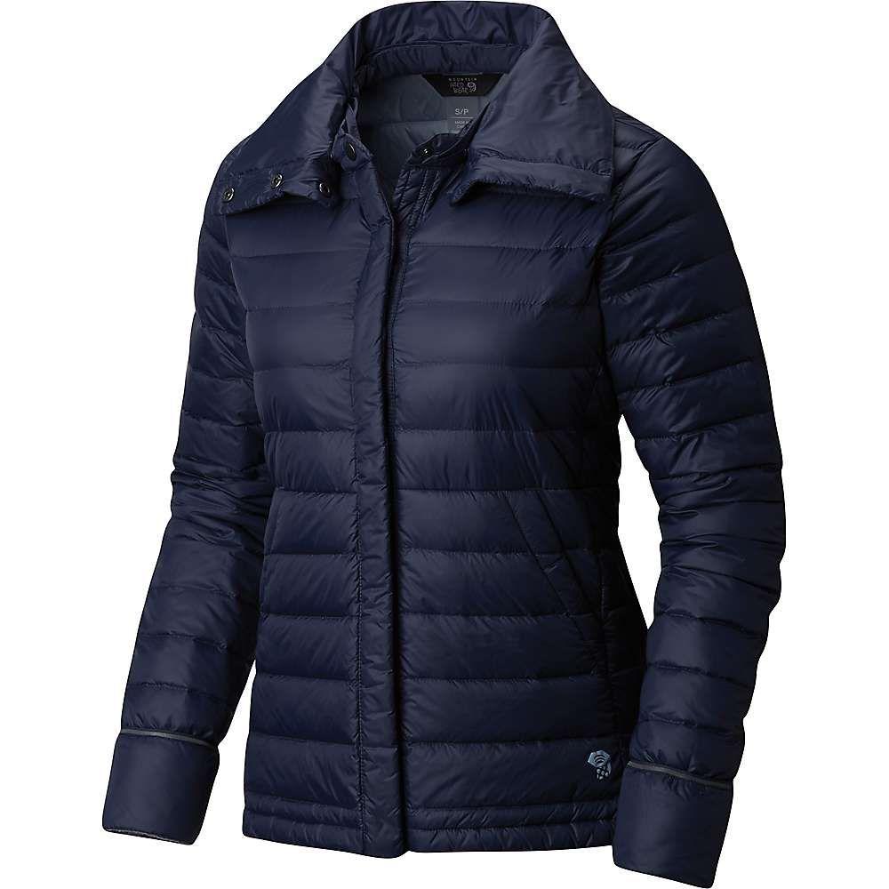 マウンテンハードウェア Mountain Hardwear レディース ダウン・中綿ジャケット アウター【PackDown Jacket】Dark Zinc