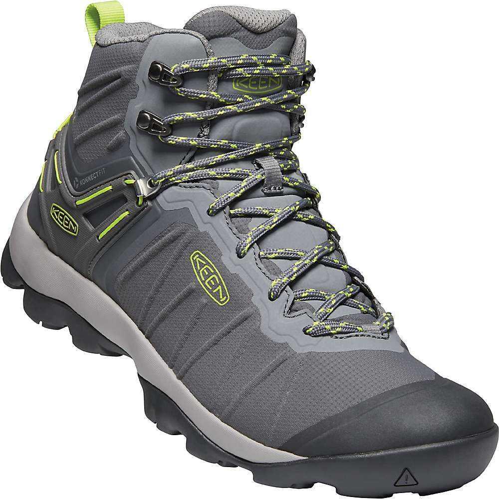 キーン Keen メンズ ハイキング・登山 シューズ・靴【Venture Mid Waterproof Shoe】Magnet/Chartreuse