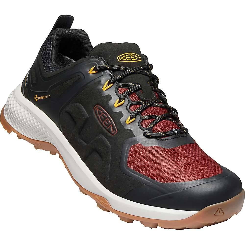 キーン Keen メンズ ハイキング・登山 シューズ・靴【Explore Waterproof Shoe】Black/Fired Brick