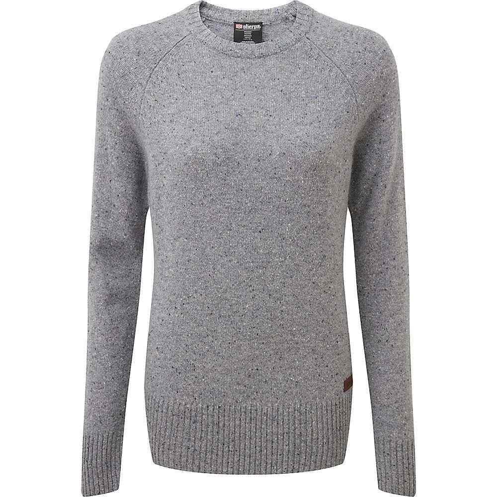 シェルパ Sherpa レディース ニット・セーター トップス【Kangtega Crew Sweater】Monsoon Grey