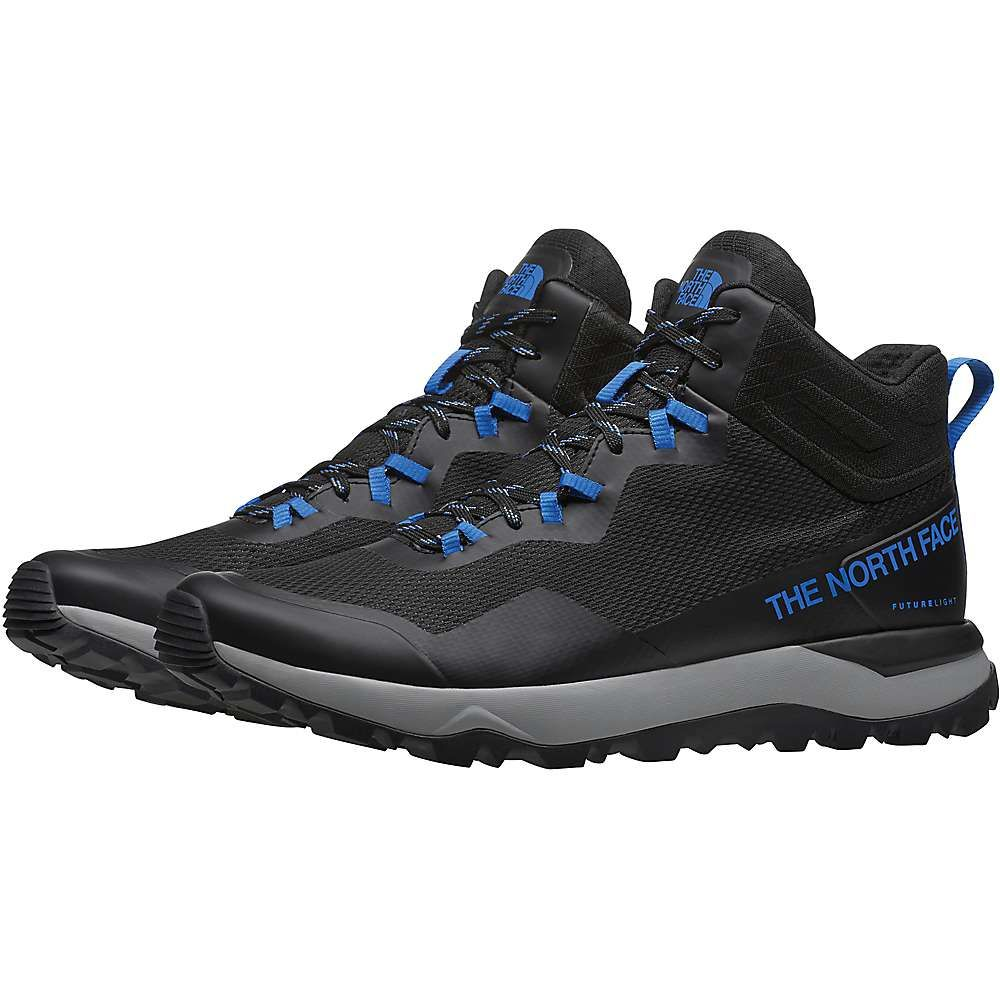 ザ ノースフェイス The North Face メンズ ハイキング・登山 シューズ・靴【Activist Mid FUTURELIGHT Shoe】TNF Black/Clear Lake Blue