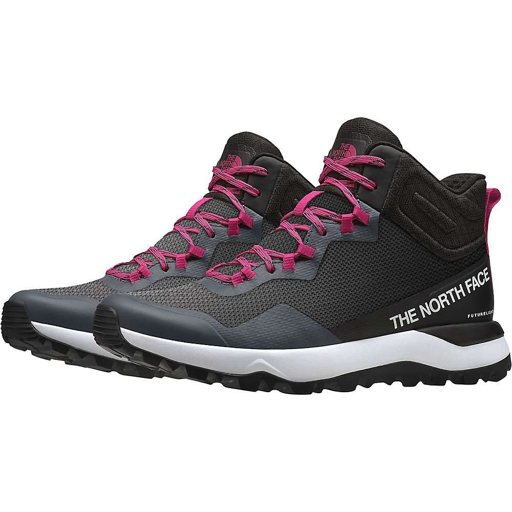 ザ ノースフェイス The North Face レディース ハイキング・登山 シューズ・靴【Activist Mid FUTURELIGHT Shoe】Zinc Grey/TNF Black