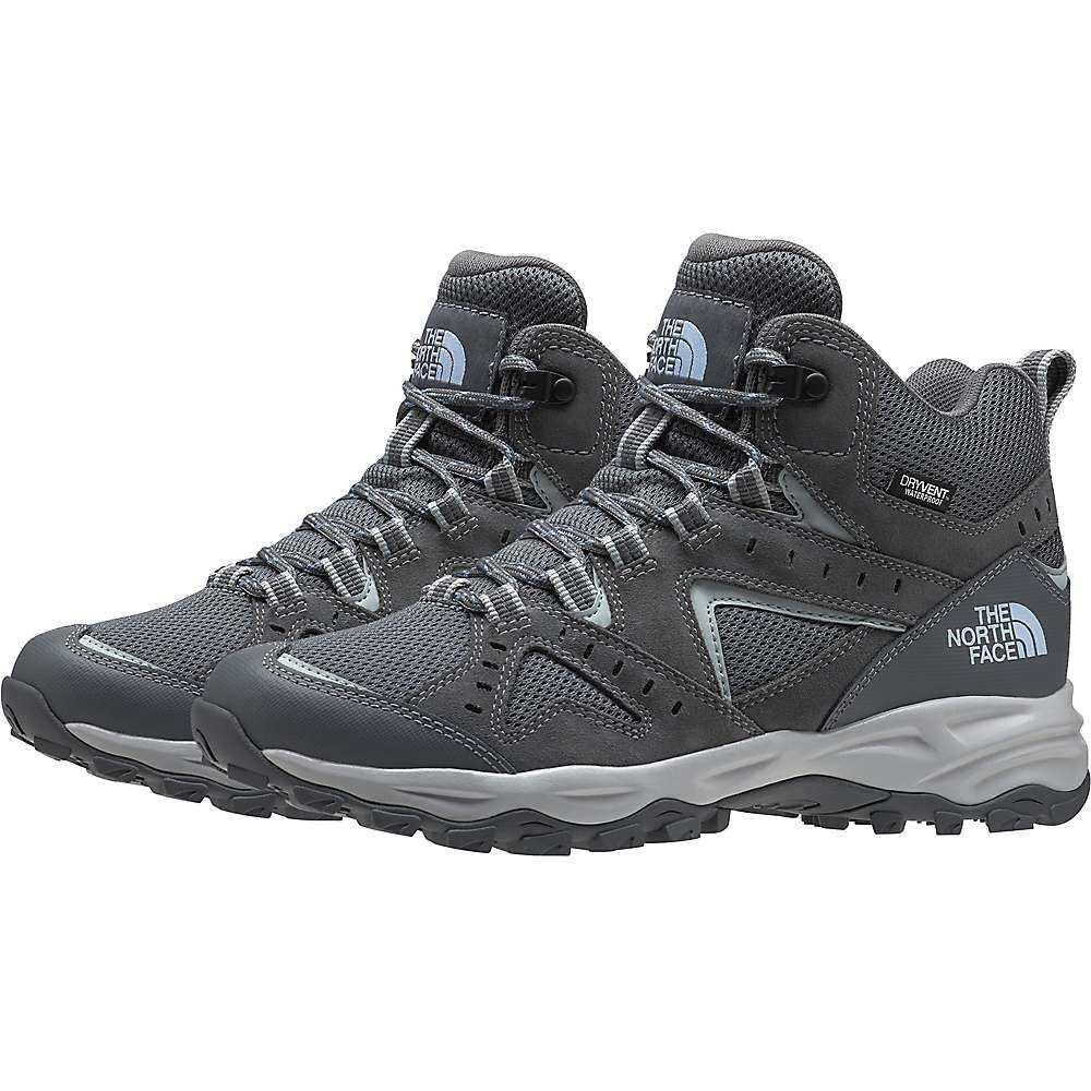 ザ ノースフェイス The North Face レディース ハイキング・登山 シューズ・靴【Trail Edge Mid Waterproof Shoe】Zinc Grey/Angel Falls Blue