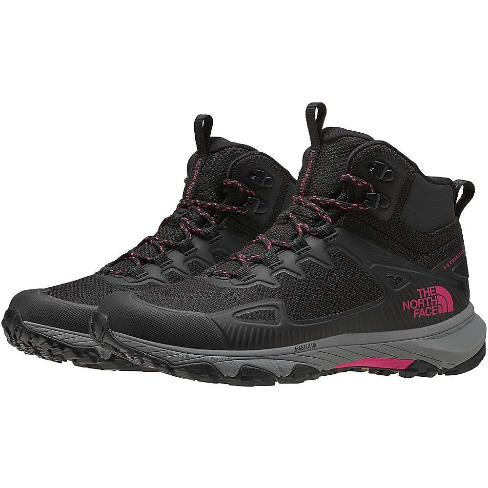 ザ ノースフェイス The North Face レディース ハイキング・登山 シューズ・靴【Ultra Fastpack IV Mid FUTURELIGHT Shoe】TNF Black/Mr. Pink