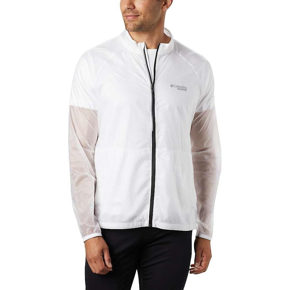 コロンビア Columbia メンズ ジャケット ウィンドブレーカー アウター【Fkt Windbreaker Jacket】White