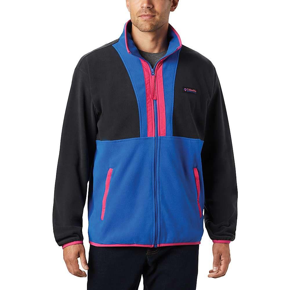 コロンビア Columbia メンズ フリース トップス【Back Bowl Fleece Lightweight Jacket】Black