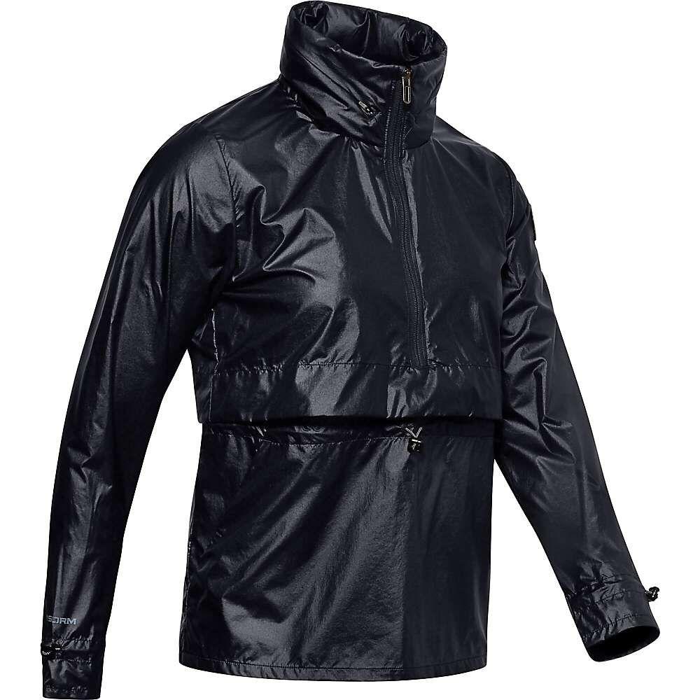 アンダーアーマー Under Armour レディース ジャケット ウィンドブレーカー アウター【Impasse Synch Wind Jacket】Black/Black/Black