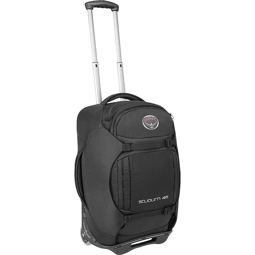 オスプレー Osprey ユニセックス スーツケース・キャリーバッグ バッグ【Sojourn 45L/22IN Wheeled Pack】Flash Black