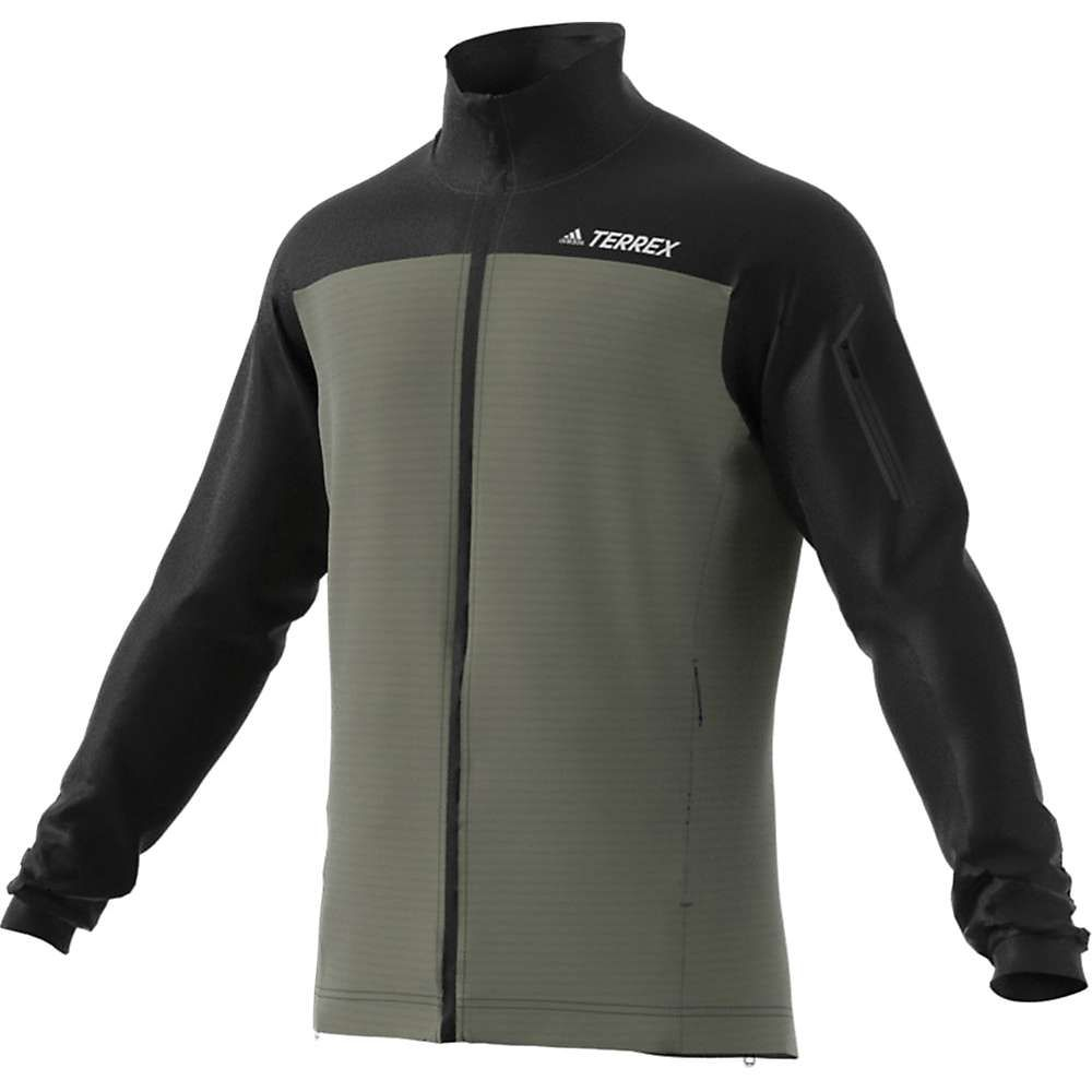 アディダス Adidas メンズ フリース トップス【Stockhorn II Fleece Jacket】Black/Legacy Green