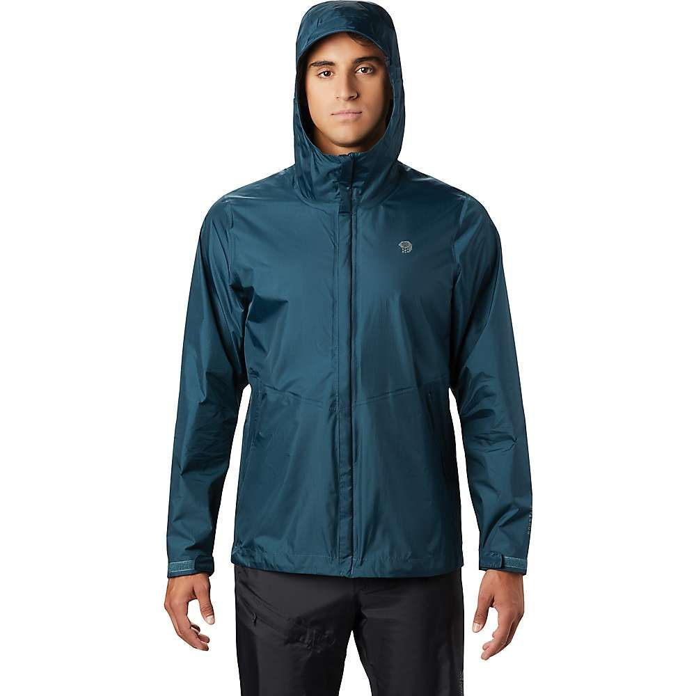 マウンテンハードウェア Mountain Hardwear メンズ レインコート アウター【Acadia Jacket】Icelandic