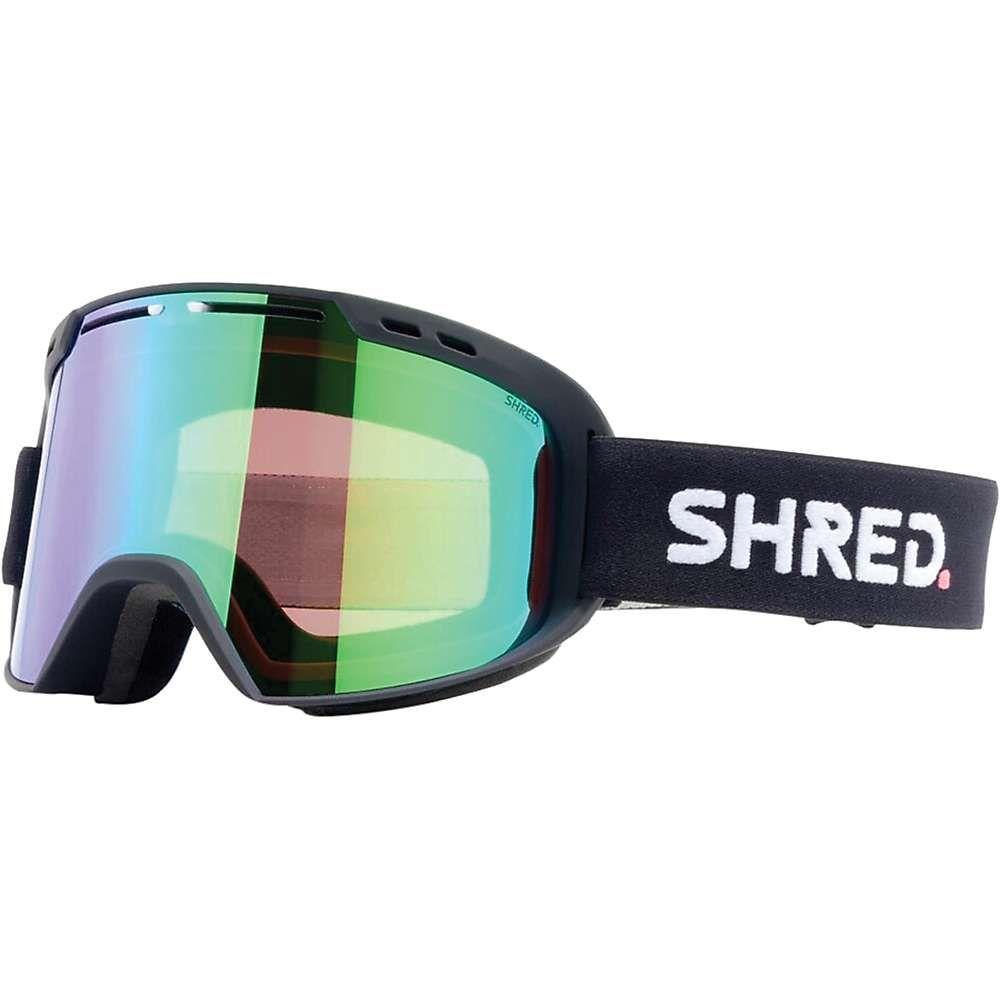 シュレッド Shred ユニセックス スキー・スノーボード ゴーグル【Amazify Snow Goggles】Black/CBL Plasma Mirror